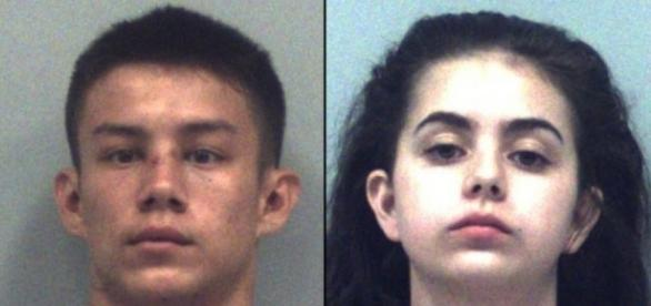Cassandra Bjorge and her boyfriend Johnny Ryder arrested for the ... - georgianewsday