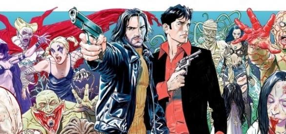 Dampyr, alias Harlan Draka, e Dylan Dog, protagonisti di due serie a fumetti tra le più amate