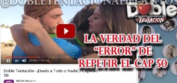 El falso error involuntario de Doble Tentación