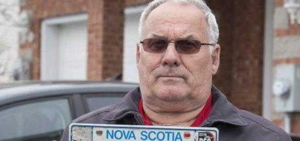 Man's license plate pulled due to last name