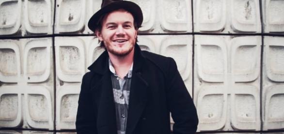 Der australische Musiker Michael Brinkworth
