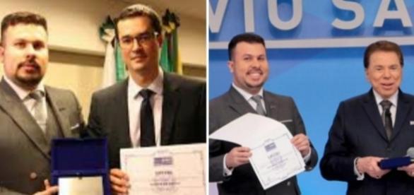 Homem distribuiu diploma falso de doutor honoris causa para celebridades