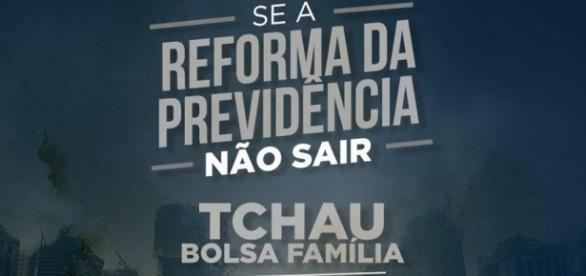 PMDB ameaça brasileiros com fim do Bolsa Família