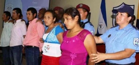 Ritual foi realizada na Nicarágua