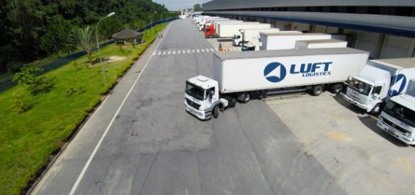 Unidade da Luft Logistics em Itapevi, no estado de São Paulo