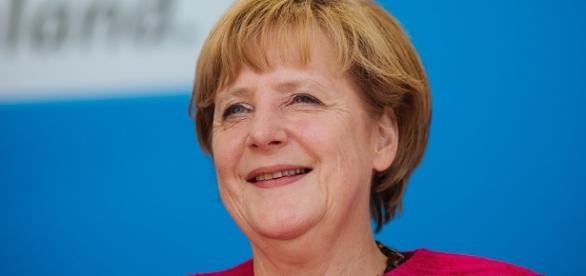 Angela Merkel (Source URG Suisse: Alexander Kurz, Lizenz: CC BY-SA-3.0)