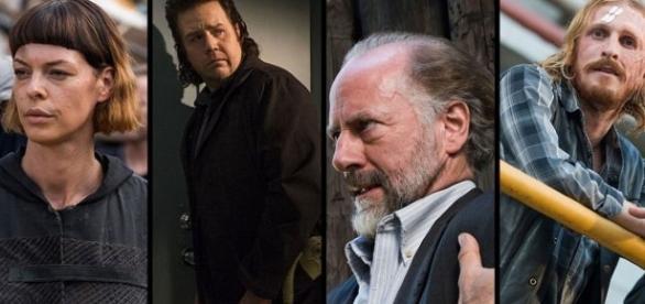 Jadis, Eugene, Gregory e Dwight são os principais suspeitos de terem traído Rick