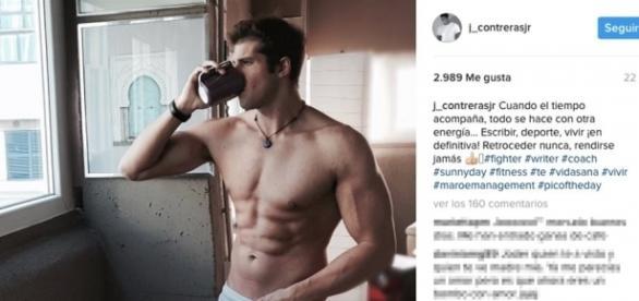 Julian Contreras Junior al desnudo