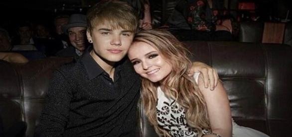 Larissa Manoela usa Photoshop e cria imagem ao lado de Justin Bieber.