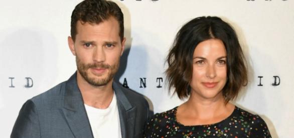 O casal Jamie Dornan e Amelia Warner