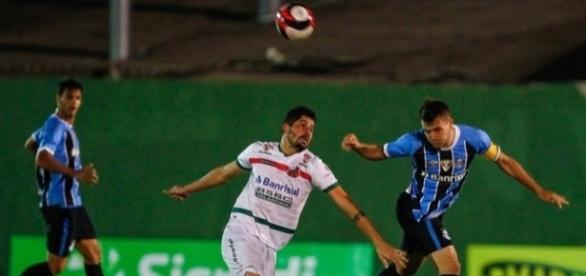 O zagueiro foi capitão da equipe que perdeu para o São Paulo de Rio Grande na última quarta (29) pelo Gauchão