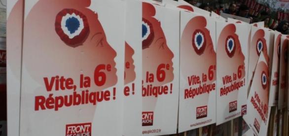 Poster Front de gauche - la VIème République