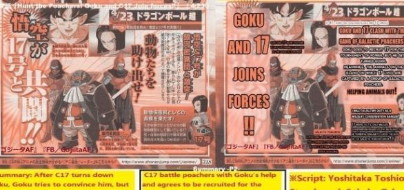 La imagen de Gojiitaaf de Dragon Ball Super.