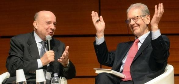 Gustavo Zagrebelsky e Salvatore Settis, due dei 'professoroni' che chiedono le dimissioni della Madia
