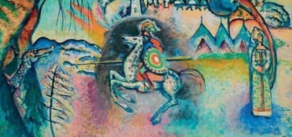 Il cavaliere errante di Kandinskij arriva al Mudec di Milano. Le foto - artemagazine.it