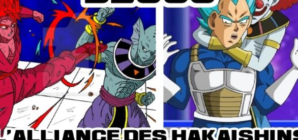 L'alliance des Haikaishins, les dieux de la destructions contre l'univers 7 !