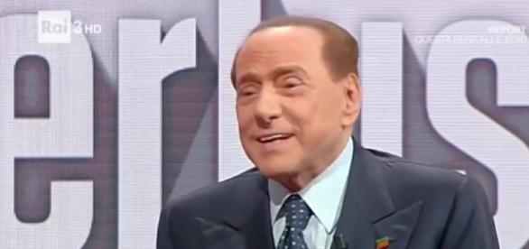 Silvio Berlusconi di Forza Italia.