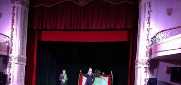 Sul palco Luca Zeffiro e Lucio Cartelli