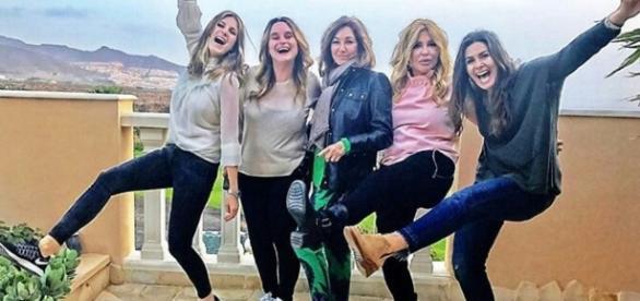 Ana Rosa y sus amigas de vacaciones
