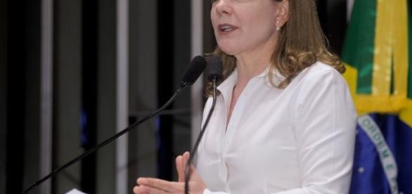 Gleisi Hoffmann - LÍder do PT no Senado