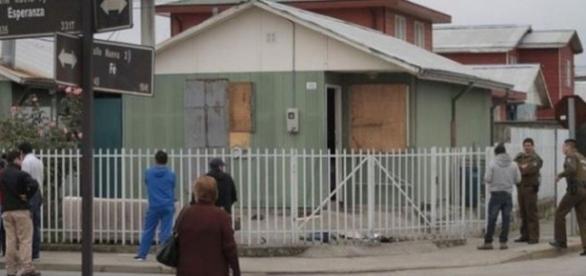 Casa em que as supostas manifestações aconteceram
