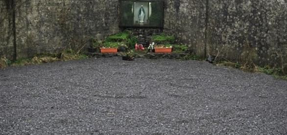 Imagem do local onde as crianças teriam sido encontradas