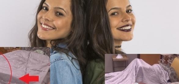 Mayla e Emilly são gaúchas e gêmeas idênticas