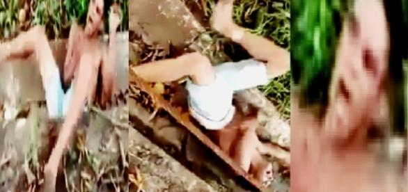 Rapaz tem overdose de crack - Imagem/Google