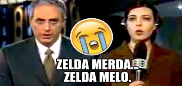William Waack chama Zelda Melo de Zelda Merda!