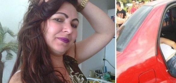 Bandidos arrancaram o filho de Lidiane de seus braços antes de matá-la