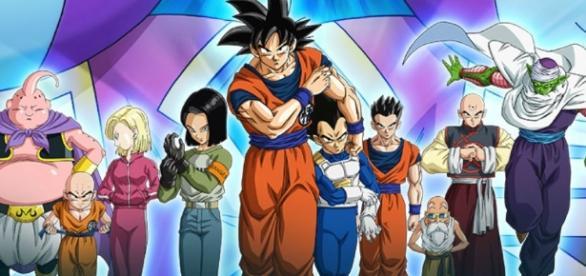 Dragon Ball super Episode 81 Goku vs Bergamo (Image credits: TOEI animation)
