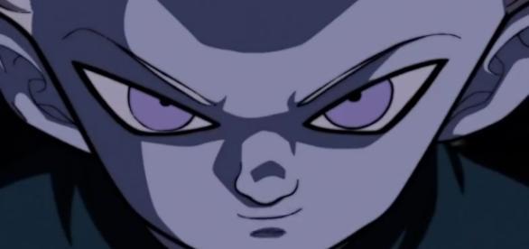el rostro de Daishinkan demuestra una mirada de pura maldad