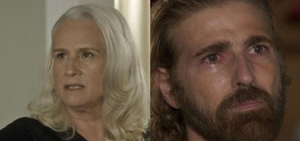 Imagem: Magnólia e Pedro na novela 'A Lei do Amor'