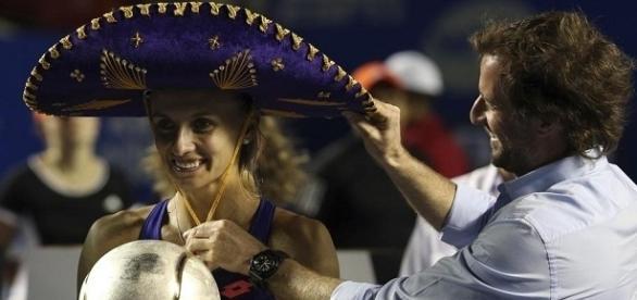 Lesia Tsurenko, campeona de Acapulco en single femenino