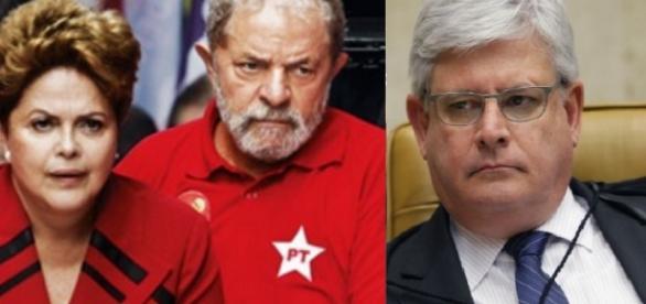 Procurador-geral da República, Rodrigo Janto, vai pedir abertura de inquérito de investigação em primeira instância, contra Lula e Dilma