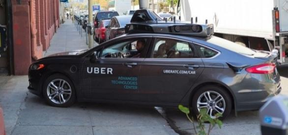 Uber self-driving vehicle prototype, Wikimedia Commons
