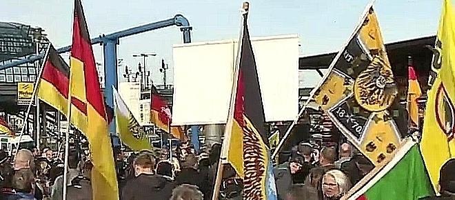 Niemcy wołają o ratunek i spoglądają za Odrę [WIDEO, FOTOGALERIA]
