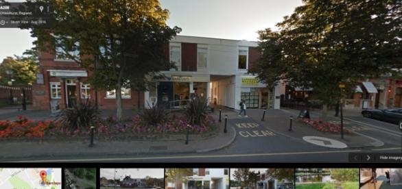 Bank robbery at Chislehurst Barclays Bank