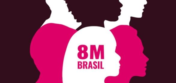 Diversas organizações dos movimentos sociais estão contribuindo para tornar realidade esta greve internacional das mulheres