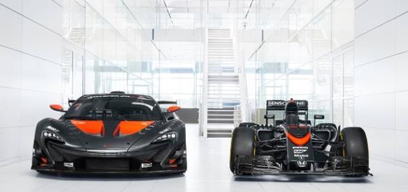 McLaren P1 GTR y McLaren Honda 2015
