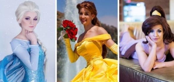Melhores cosplays de personagens da Disney. reprodução: Facebook.
