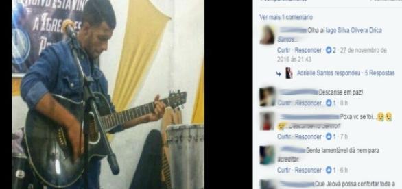Cantor é brutalmente assassinado na Bahia