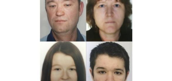 France Monde | Disparus d'Orvault : le beau-frère a démembré les corps - lejsl.com Photo des quatres membres de la famille Troadec
