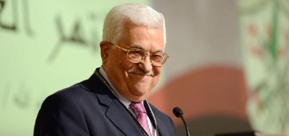 Il leader palestinese Abu Mazen.