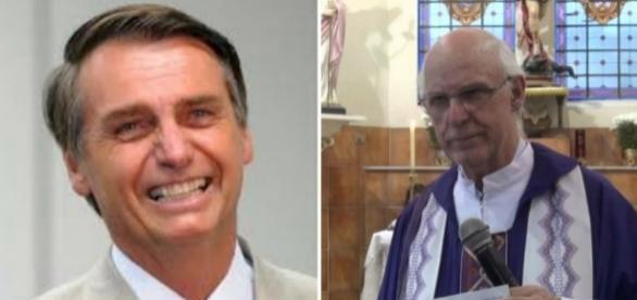 Jair Bolsonaro rebate críticas feitas pelo padre Júlio Lancelotti