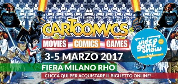 Locandina del Cartoomics (presa da cartoomics.it)