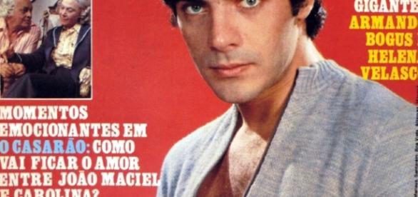 Mário Gomes foi capa de muitas revistas, na década de 1980