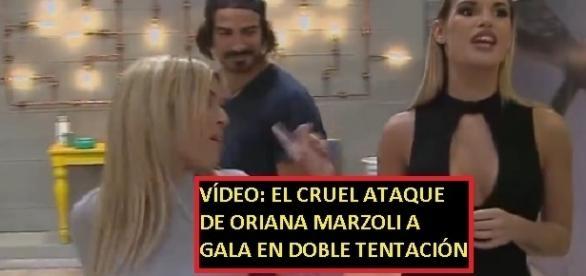 No te pierdas las imágenes del ataque sin razón de Oriana a Gala en el reality chileno de moda