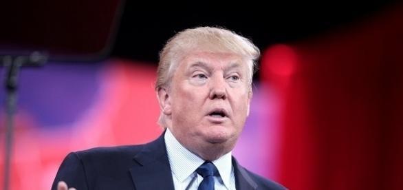 Presidente degli Stati Uniti d'America Donald Trump.
