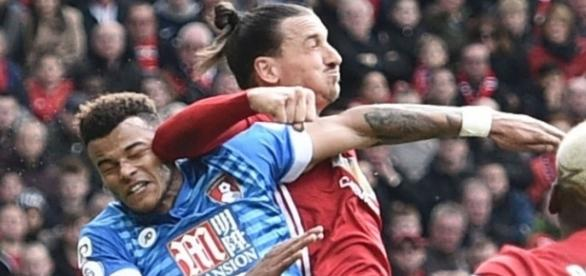 That must have hurt a lot. Bad Zlatan